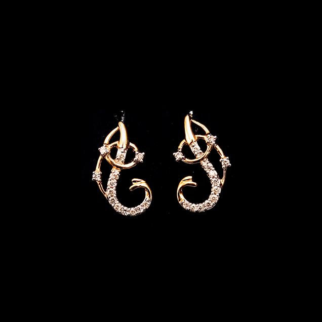 Diamonds Earing for Ladies