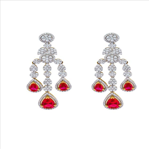 We are a renowned manufacturer and supplier of astonishing range of Diamond Studded Earring for our widely spread clients. Jewels Box is the premier Loose Diamonds  and Diamonds Jewelry supplier that has always been at the forefront of providing quality and genuine diamonds to Dealers and Jewelers worldwide.